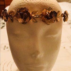 ⚡️⚡️Cute Fashion Gold Plated Head Band.